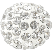 SWAROVSKI®   86301  Half Hole Pavé Ball Crystal
