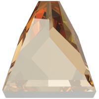SWAROVSKI®   2419 Square Spike Crystal Golden Shadow  Foiled MM  4,0X  4,0|1 Stück - 0.69 EUR