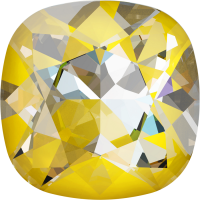 SWAROVSKI®   4470 Cuchion Square Crystal Sunshine DeLite
