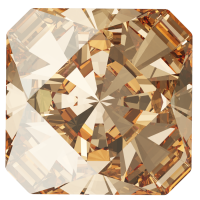 SWAROVSKI®   4499 Kaleidoscope Square Crystal Golden Shadow