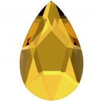 SWAROVSKI®  2303 PEAR  Sunflower   Foiled MM 14,0X 9,0|72 Stück - 71.70 EUR