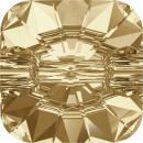 SWAROVSKI® 3009 Crystal Golden Shadow Foiled MM 10,0|36 Stück - 20 EUR