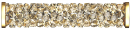 SWAROVSKI®   5950  Crystal Gold.Shadow  GOLD MM 15,0|10 Stück - 36 EUR