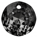 SWAROVSKI®   6430  Classic Cut Crystal Silver Night MM 14,0|10 Stück - 16.50 EUR