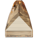 SWAROVSKI®   3296 Square Spike Crystal Golden Shadow  Foiled MM 10,0X 10,0|18 Stück - 50.90 EUR