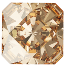 SWAROVSKI®   4499 Kaleidoscope Square Crystal Golden Shadow MM 14,0|4 Stück - 12.80 EUR