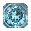 SWAROVSKI®   4499 Kaleidoscope Square Aquamarine   Foiled MM 6,0|6 Stück - 5.20 EUR