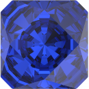SWAROVSKI®   4499 Kaleidoscope Square Majestic Blue   Foiled MM 10,0|4 Stück - 5.70 EUR