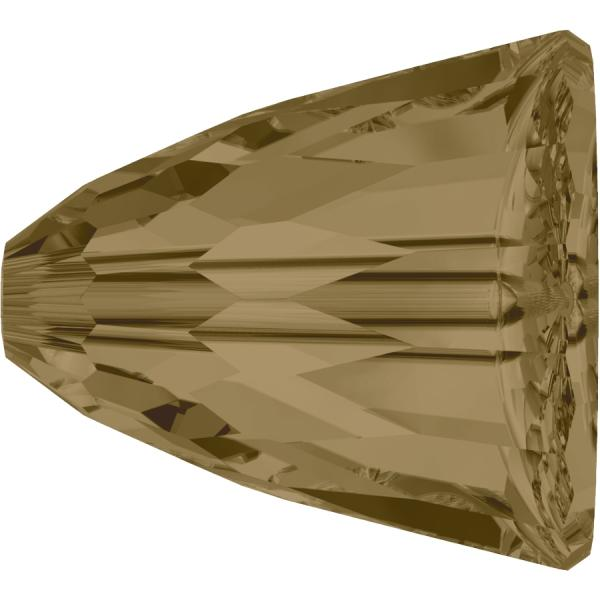 SWAROVSKI® 5541 Dome Bead Large   Crystal Bronze Shade