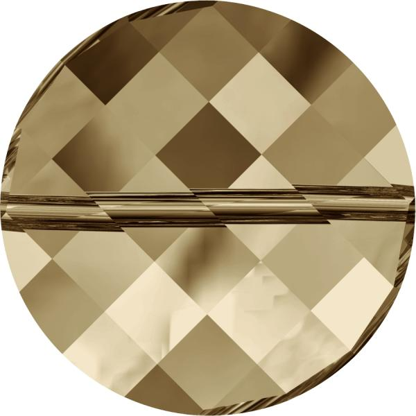 SWAROVSKI® 5621 Twist Bead   Crystal Golden Shadow